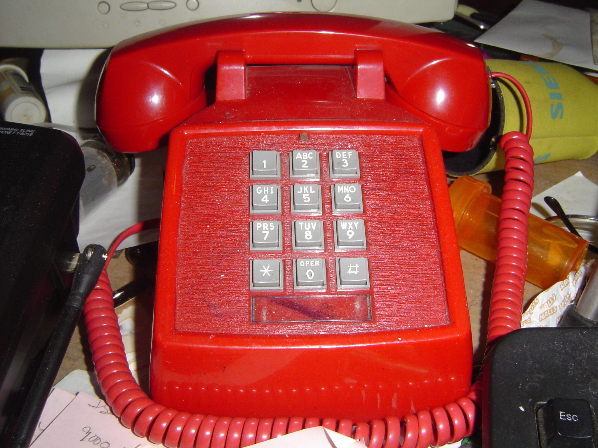 Call us on the Red Phone